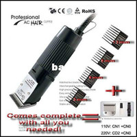 other Dogs Grooming New 30W Professional Pet Dog Hair Trimmer Grooming Clipper EU Plug 110V~120V 220V~240V