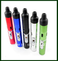 Wholesale smoking pipe Click N Vape all In One Vaporizer W Wind Proof Torch Lighter Snake Vapes Herbal portable Vaporizer