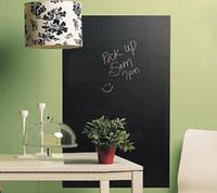 Wholesale 55 cm Blackboard Removable Wall Sticker Kids Chalkboard Decal Chalk Board Wall Art