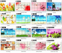 other aluminium export - Kitchen Wall Sticker Aluminium Foil Paper Hot Resistant Fruit Flowers Animals Vegatable Oil Water Proof cm Export to Japan