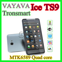 Wholesale Tronsmart X920 X920E Butterfly ONE ICE TS9 quot IPS Arc Screen Quad Core MTK6589 GB RAM GB ROM MP Camera G GPS Andorid Pearl White