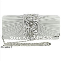 Wholesale New Design SWEETHEART dianmante pearl ladies clutch evening bags party bags wedding bags