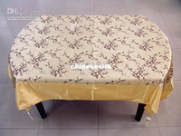 Wholesale Rectangular Gorgeous Damask Banquet Tablecloths Chinese style Printed Decorative Table Cover Multicolor option size L x W m Free