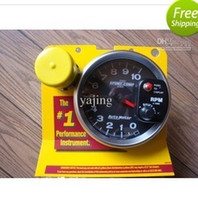 Wholesale AUTOMETER SPORT COMP II quot SHIFT LIGHT TACHOMETER R auto meter Tachometer auto gauge car meter
