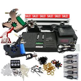 Wholesale Beginner Tattoo Kits Top Machine Gun Power Needle Grip Tip Case BT TK902