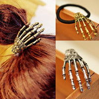 Wholesale Really COOL PUNK CLAW style women hair clips hair hoop mixed Vivid charm vampire claw hair jewelry