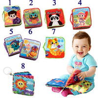 Wholesale EMS lamaze the Rama Zerbe book Habits of cloth styles books children s toys in boxes Fairy tale storyb