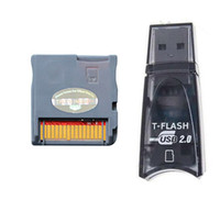 Wholesale Red I SDHC RTS FLASH CARD CART CARDS ADAPTER CARTRIDGE FOR DS NDSI DHL