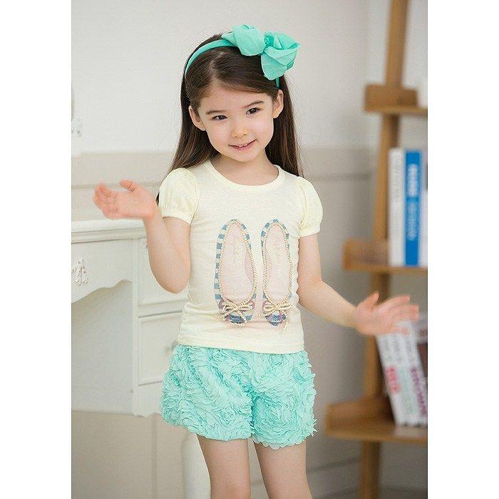 Dancing Babies Cute: 2018 Girls Baby Dancing Shoes Printed Suits New Summer