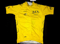 Shirts Anti Pilling Unisex Tour De France 100 Anniversary cycling Jersey Short Sleeves Summer Race jersey Quick Dry Team Full Zip Jersey Yellow Free Shipping