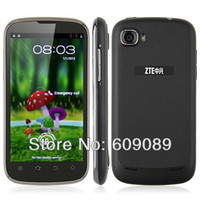 """4.3 Android 1G Free SG post original ZTE V970 4.3"""" IPS touch screen Android4.0 phone WIFI GPS CPU MTK6577 1G RAM+4G ROM Russian support"""