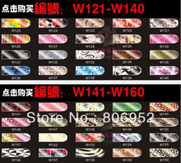 Wholesale 2014 New arrived Sexy minx Metallic Nails stickers nail art stickers