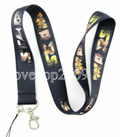 Wholesale New Fashion Cartoon Star Wars mobile Phone card lanyard neck straps Party gifts