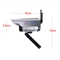 Wholesale Double Wireless Solar Power Fake Dummy Camera Security Surveillance Camera with Red Blinking LED for outdoor and indoor