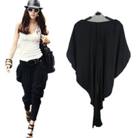 Wide Leg loose pants for women - 2013 New Sexy Harem Pants For Women Stretch Baggy Drop Loose Bottom Legging Pure Color Casual Pants With Pockets
