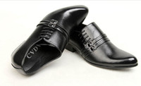 Lace-Up Men  Business Suits Popular trend of British style Shoes Fashion Leather Men's Shoes