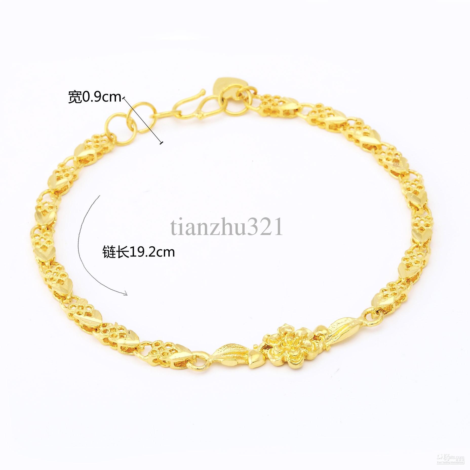 2016 Beautiufl Yellow Gold Lady's Nice Design Bracelet From Tianzhu321 ...: www.dhgate.com/product/beautiufl-yellow-gold-lady-s-nice-design...