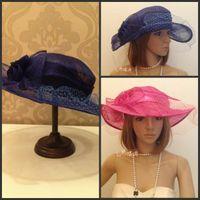 Wedding church hats - 2015 Wedding Dresses Hats Flowers Church Hat Fascinators Wedding Hair Accessories