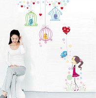 Wholesale Removable Wall Stickers Cartoon Home Decoration Giant Wall Decals cm JM7152