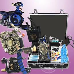 Kits de kits de tatuaje de arranque 3 fuentes de alimentación de la ametralladora equipo de agujas (almacén de EE.UU.) WS-K302B