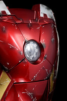 Wholesale 86Hero Marvel iphone Ironman Case Iron man Mark VII Battle Damaged Led ver