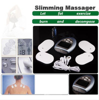 Wholesale New Muscle Massager Slimming Electronic Pulse Burn Fat Relax massager
