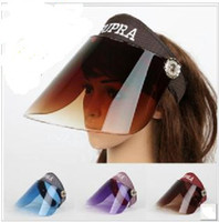 Wholesale Hot Selling New Men Women Sports Ultraviolet Sunshade Caps Visors Hats Colors