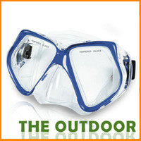 diving equipment - Diving Mask Adult Color One Size Red Bule Pvc Swimming Goggles Waterproof Discount Diving Equipment HW0273