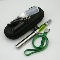 Wholesale eGo CE5 kits lanyard kits CE5 clearomizer mah mah mah battery with lanyard and case e cig good quaility DHL Free