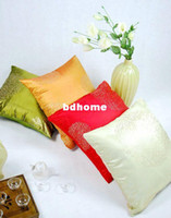 Wholesale Golden ice green red beige orange Automotive sofa cushions throw pillow covers cmZD0022
