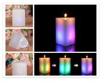 religious candles - New rectangular led wax candle Led candle for decoration of Birthdays Weddings Parties Religious Activities