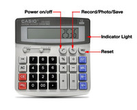 8G   Business Desk Top Calculator Built in 8GB Hidden Pinhole Spy Camera DVR Video Recorder Calculator Monitor