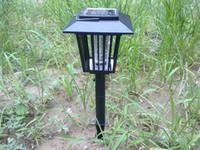 Garden mosquito killer outdoor - Best price New Outdoor Garden Solar Pest Insect Bug Mosquitoes Killer Repellent Zapper Light Lamp