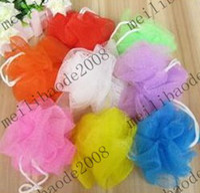 Wholesale Bath Shower Body Exfoliate Puff Sponge Mesh Net Ball MYY2814