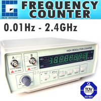 Wholesale VC Precision Frequency Counter Hz to GHz Work State Unit digit LED Display Steps Function Selection