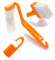 Wholesale S Shape Plastic Toilet Brush Closestool Brush Closet Bowl Cleaning Brush from icoud color Random