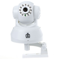 Wholesale 2 way Audio WiFi Night Vision CCTV IP Camera IR CMOS PT Security System White Freeshipping Dropshipping