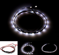Wholesale 10pcs cm SMD LED Car Van Flexible Neon Grill Side Strip Light Lamp V with high quality