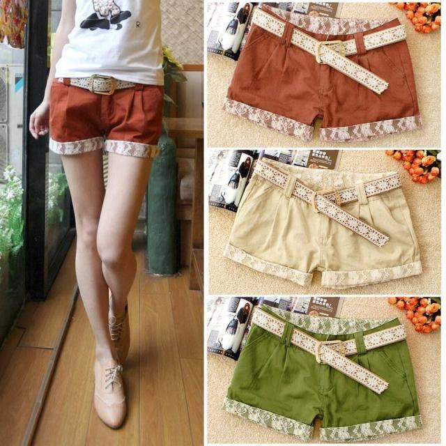 New Arrival Women Ladys Shorts Hot Selling Cute Shorts Women ...