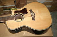 Wholesale 12 Strings Natural Acoustic Electric Guitar with EQ Best High Quality