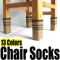 Wholesale 16pcs Elastic Chair Leg Socks Colors to Choose From Floor Protector Pads for any Furniture with Legs Worldwide
