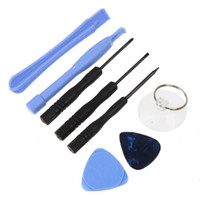 Wholesale 8 in REPAIR PRY KIT OPENING TOOLS TOOL FOR cell for APPLE IPHONE iphone s samsung i9500 set DHL FEDEX