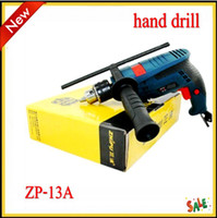 Wholesale 2013 Electric Drill High Impact Drill Hammer Drill Kit multifunction two hand household mini electric tools