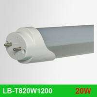 Wholesale 50pcs Superbright W lm T8 LED Tube mm Ft Light Bulb Lamp V AC M cm SMD2835 T8 led tube