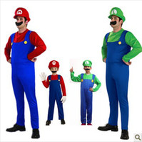 mario adults movies lot - Super Mario cosplay costumes big size for adult suit for cm height