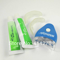 Wholesale White Light Teeth Whitening System LED tooth Whiten Kit Personal Dental Care
