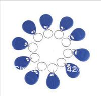 10x Nuevo 125Khz RFID Proximidad Identificación Token Etiquetas clave Keyfobs Control de acceso Uso Azul Envío gratuito
