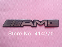 Wholesale Silver Car AMG Body Rear EMBLEM Badge Styling Sticker Decal For Mercedes Benz