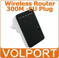 Cheap Portable Mini 300Mbps Wireless-N Wifi Router IEEE 802.11 b g n Network AP Repeater Client Bridge EU Plug