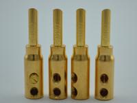 banana plugs gold set - Set of Quality CMC Gold Plated Copper Banana Plug Connector CMC CU G